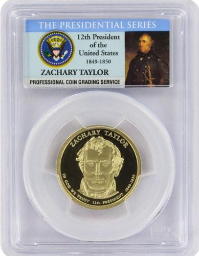 2009 Taylor Presidential S Proof Presidential Dollar PR-69 PCGS