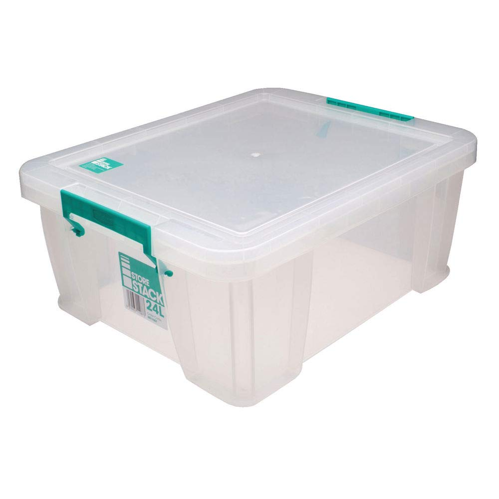 STORESTACK RB11087 Box, 24 L, Width 480 mm x Diameter 380 mm x Height 190 mm