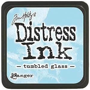 Tim Holtz Distress Mini Ink Pads-Tumbled Glass