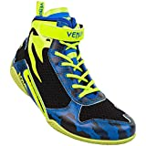 Venum Giant Low Loma Edition Boxing Shoes - Blue/Yellow - 44 (US 10,5)