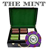 Claysmith Gaming 500-Count 'The Mint' Poker Chip Set in Hi Gloss Case, 13.5gm