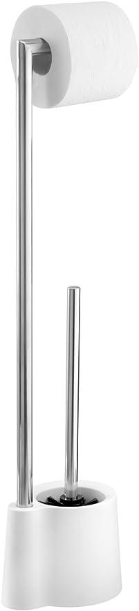 Wenko 22989100 Combiné Wc Avola Métal Chroméplastique 13 X 66 5 X 16 Cm Blanc