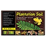 Exo Terra Plantation Soil - 8 qt (8.8 L), Brown, 8-Quart