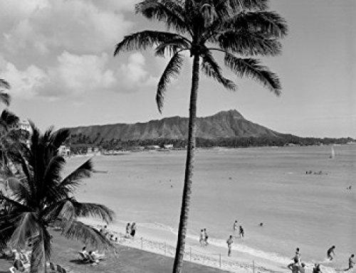 USA Hawaii Diamond Head Poster Print
