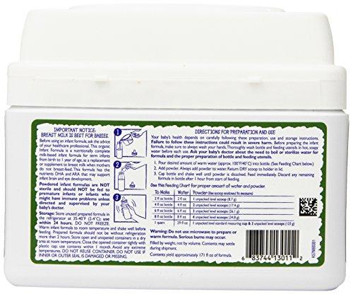 Vermont Organics Milk-Based Organic Infant Formula with Iron, 23.2 oz.  (Pack of 4) by Vermont Organics (Image #4)