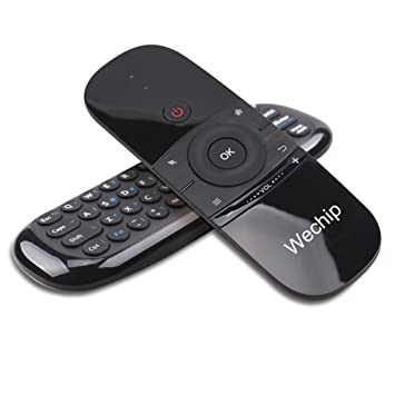 H20 air Mouse Mini Air Remote,Wechip Wireless Keyboard 2.4G Smart TV Fly Mouse W1 Multifunctional Remote Control for Android TV Box//PC//Smart TV//Projector//HTPC//All-in-one PC//TV