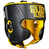 Ringside Golden Gloves Amateur Competition Headgear, Black, Medium