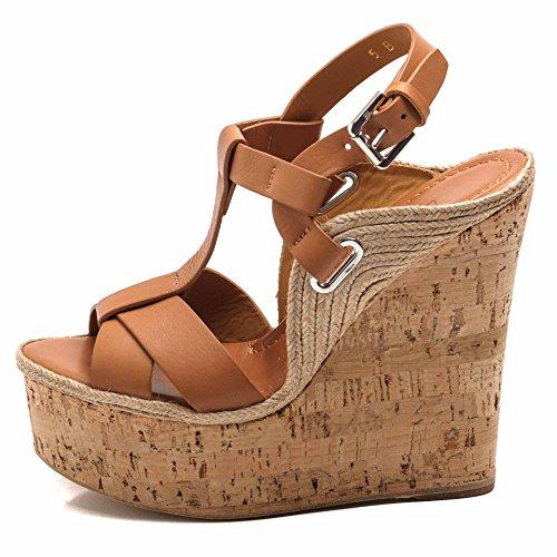 Sandalias de Piel Vestir de Cuoio Ralph para Lauren Mujer 1fqUwTxRT