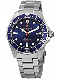 DS Action Diver Blue Dial Automatic Mens Watch C032.407.11.041.00. Certina