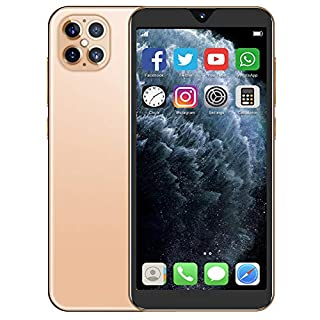 Hopcd Android Unlocked Phones, 10-Core 6.1inch Full Screen 1+8G Smartphone, Dual Cards Dual Standby, Support up to 128G Memory Card(US)