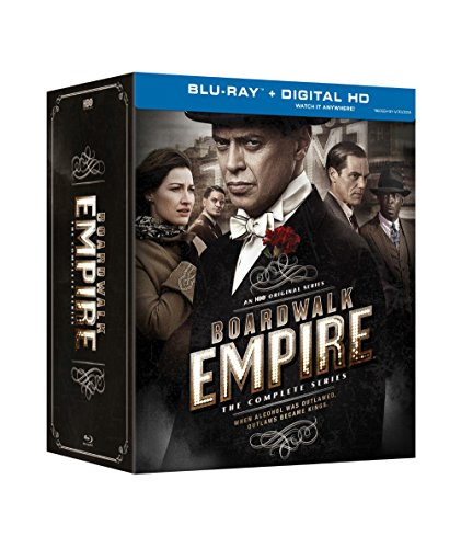 Blu-ray : Boardwalk Empire: The Complete Series (Ultraviolet Digital Copy, Boxed Set, Slipsleeve Packaging, Digitally Mastered in HD, 20 Disc)