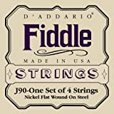 D'Addario Fiddle String Set, 4/4 Scale, Medium Tension