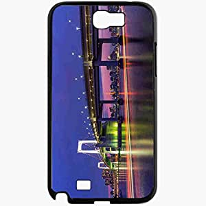 Unique Design Fashion Protective Back Cover For Samsung Galaxy Note 2 Case Japan Tokyo Capital Japan Tokyo Capital Black