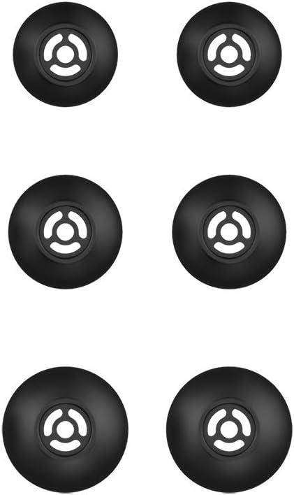 Sport//Piston wie E1010 E1003 E1001 E1009 1MORE Ersatz-Ohrst/öpsel-Set f/ür 1MORE HiFi- E1018 E1004 Kopfh/örer usw.