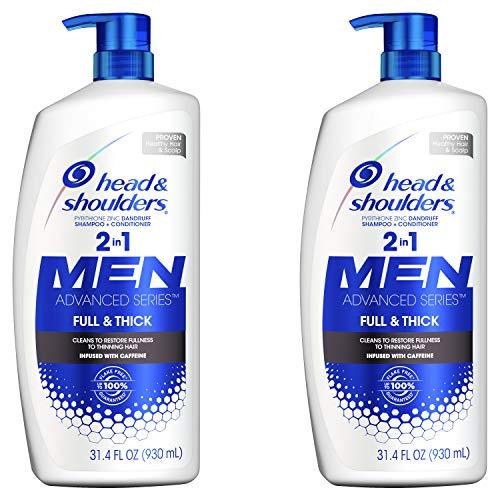 Head and Shoulders, Shampoo, Anti Dandruff, Full and Thick,