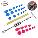 Flying Hedwig PDR Tools – Pops a Dent Paintless Dent Repair Tools Kits with Hot Melt Glue Gun Glue Sticks for Car Body