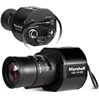 Marshall Electronics CV345-CSB 1/3 2.5MP Full HD 3G-SDI/HDMI Compact Broadcast Compatible Camera, 1920x1080 at 59.94fps, Lens Not Included