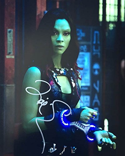 ZOE SALDANA - Guardians of the Galaxy - Signed 8x10 Photograph MINT with COA & Proof Picture - Saldana Zoe Crossroads