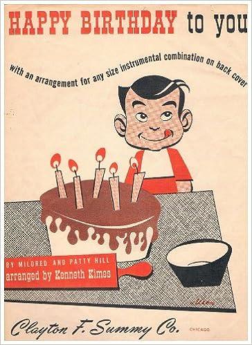 Amazon Vintage 1950 HAPPY BIRTHDAY TO YOU