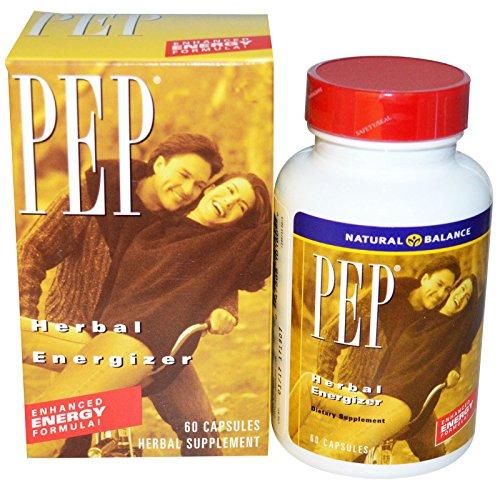 Natural Balance, PEP, Herbal Energizer, 60 Capsules - 2pc (Herbal Energizer)