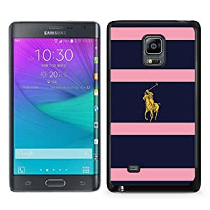 Lauren Ralph Lauren 09 Black Fashion Design Customized Picture Samsung Galaxy Note Edge Case