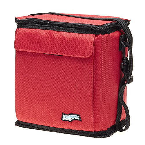 FlexiFreeze Freezable 12 Can Cooler (RED) (Golf Bag With Built In Cooler)