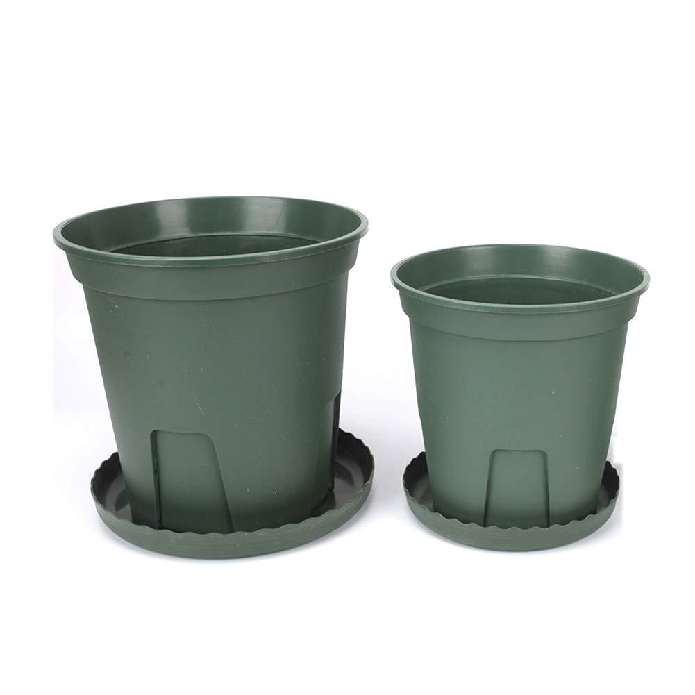 ti renderà soddisfatto ZHANGZHIYUA Vaso da Vaso Durevole vasi per fioriere fioriere fioriere da 10 Pezzi Contenitore per Piante da vivaio con Pallet da 10 Pezzi,3  benvenuto a comprare