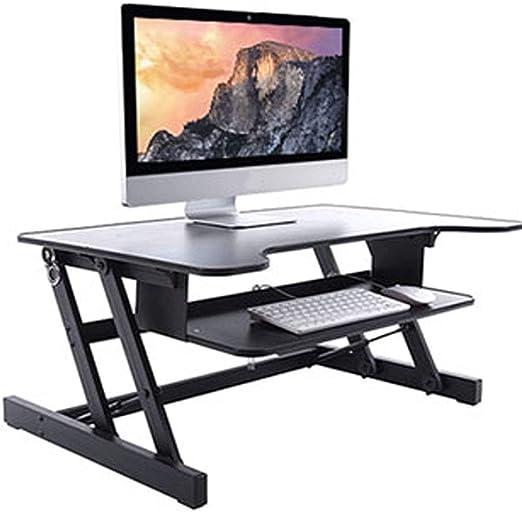 QQAA Escritorio/Soporte/Mesa Plegable de Aluminio para Laptop ...