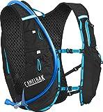 CamelBak Ultra 10 Crux Reservoir Hydration Vest, Black/Atomic Blue, 2 L/70 oz