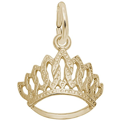 Rembrandt Charms, Tiara, 14K Yellow Gold by Rembrandt Charms (Image #2)