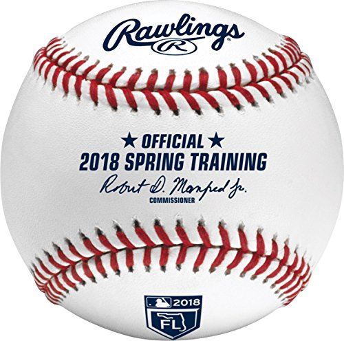 Rawlings Official 2018 Florida Spring Training MLB Game Baseball Boxed