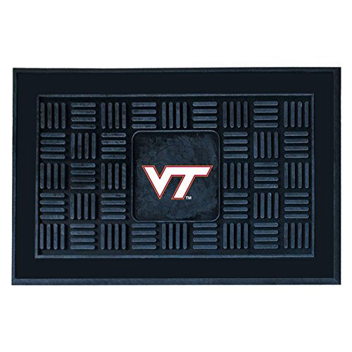 (FANMATS NCAA Virginia Tech Hokies Vinyl Door Mat)