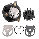 KanSmart Water Pump Impeller Kit 18-3348 for OMC Cobra with New Housing Replaces 984461 983895 984744
