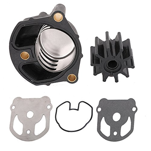 Cobra Water - KanSmart Water Pump Impeller Kit 18-3348 for OMC Cobra with New Housing Replaces 984461 983895 984744