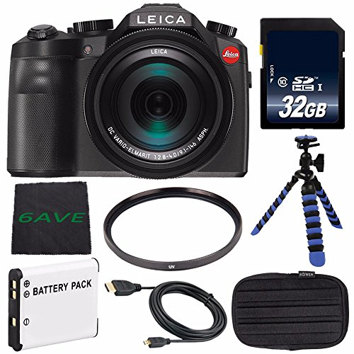 Leica V-LUX  Digital Camera  + Replacement Lithium Ion Batte