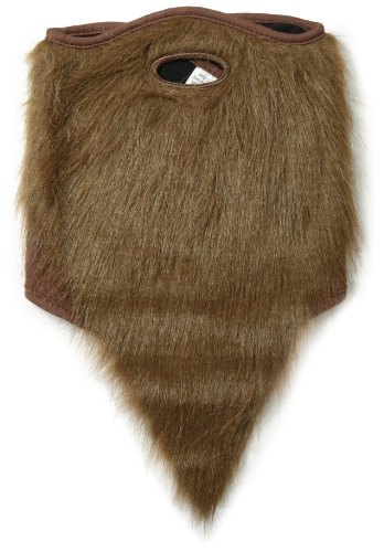 - neff Men's Bearded Mask, Brown, One Size