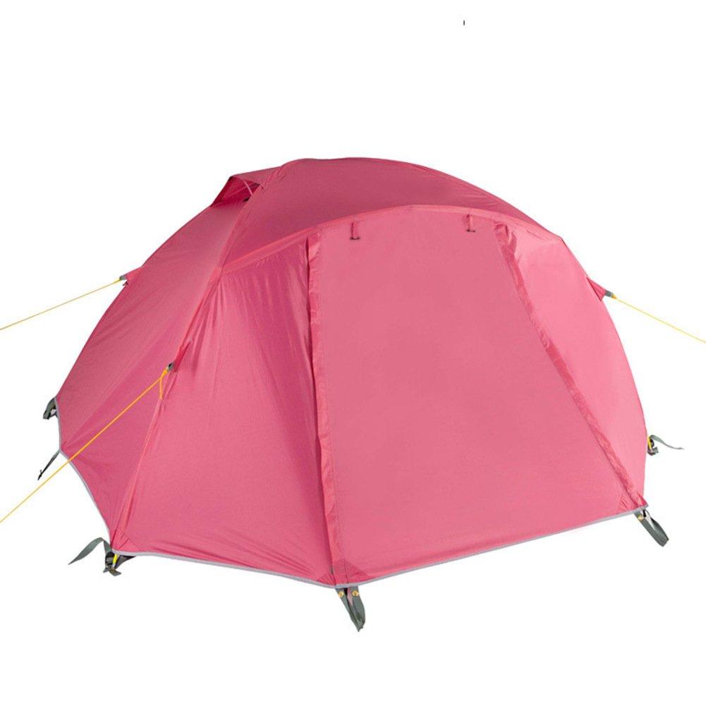 Weiwei Tente Campante Extérieure, Camping Tente D'Alpinisme Tente Anti-Pluie A 2 personnes