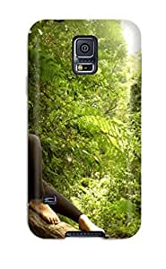 Defender Case For Galaxy S5, Nature Nap Pattern