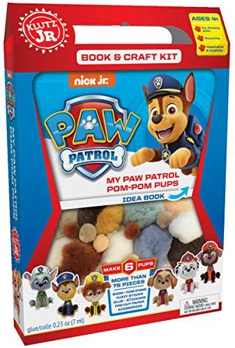 Klutz Jr. My Paw Patrol Pom-Pom Pups Craft - Jr Kit