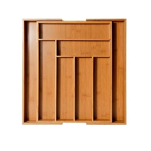 LAI - Organizador de Cubiertos para cajones (6-8 ...