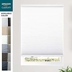 """CHICOLOGY Custom Made Cordless Cellular Shades Morning Mist(Privacy Light Filtering) Inside Mount,W:18"""" xH:48"""""""