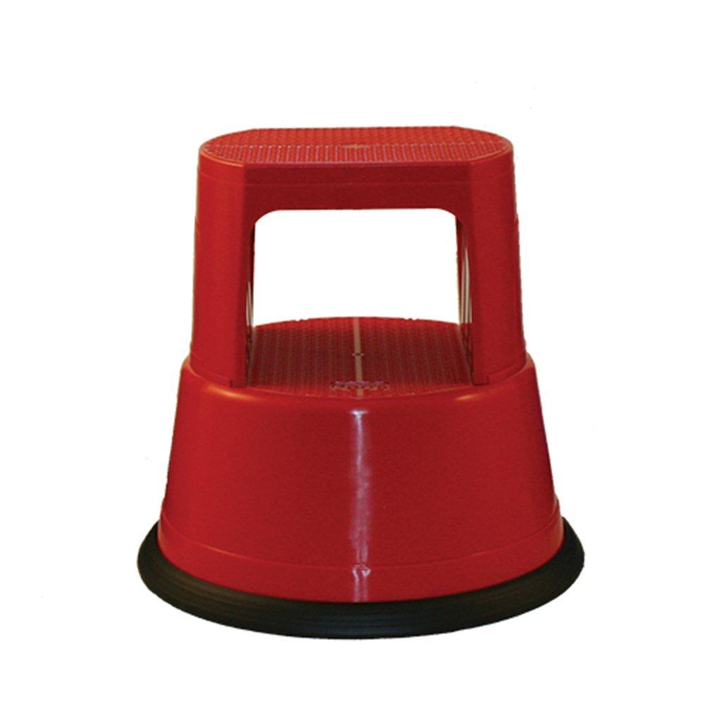 Parrs ARL001.RED kick Step Stool - Red F Parr Ltd