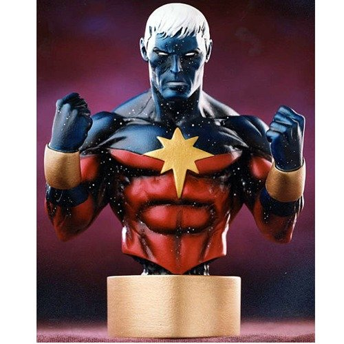 Bowen Designs Bust - Captain Marvel (Modern Variant) Mini Bust by Bowen Designs