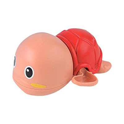 Tuscom Wind Up Baby Bath Toy Clockwork Bathtub Pool Cute Swimming Turtle Animal Play Water Toy for 3-12 Years Old Kids Boys Girls - Automatically Floating: Home & Kitchen