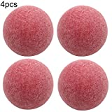 kaaka 1Pc/4Pcs 36mm Game Room 36mm Standard Size Foosballs Table Game Soccer Replacement Balls for Leisure Time Gaming Accessories