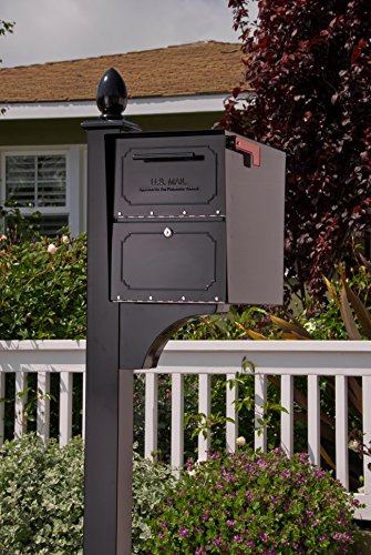 Architectural Mailboxes 6200B-10 Oasis Classic Locking Post