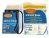 Eureka RR Micro Filtered Vacuum set (9 bags & 1 R belts & 1 hf2...