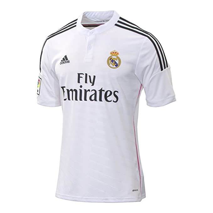 74db7f7a94d Amazon.com : Real Madrid Home Jersey 2014 / 2015 : Sports & Outdoors