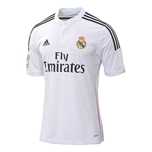 2fa515f5c Amazon.com   Real Madrid Home Jersey 2014   2015   Clothing