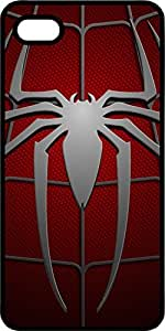 Spiderman Emblem On Spider Suit Tinted Rubber Case for Apple iPhone 4 or iPhone 4s